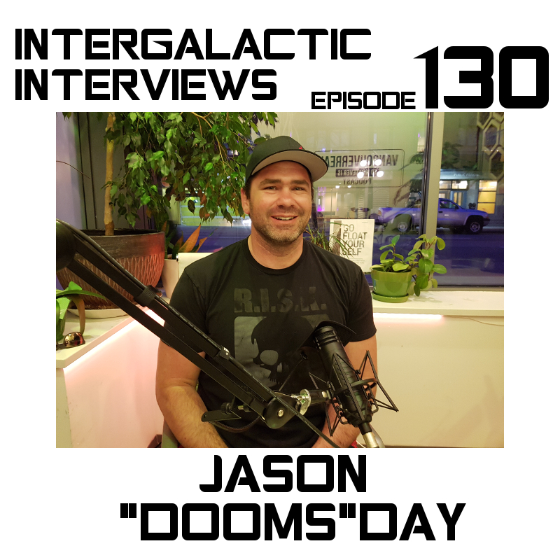 jason dooms day mma ufc stunt podcast intergalactic interviews episode 130 2017 new jayme mcdonald md of the boomsday alliance