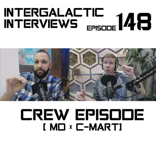 intergalactic interviews md of the boomsday alliance c-mart mental health depression podcast 2017 new