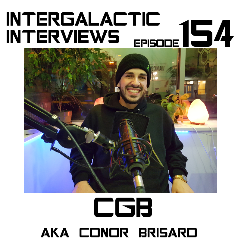 CGB home grown mick jenkins moka only podcast intergalactic interviews episode 154 conor brisard rapper ottawa vancouver
