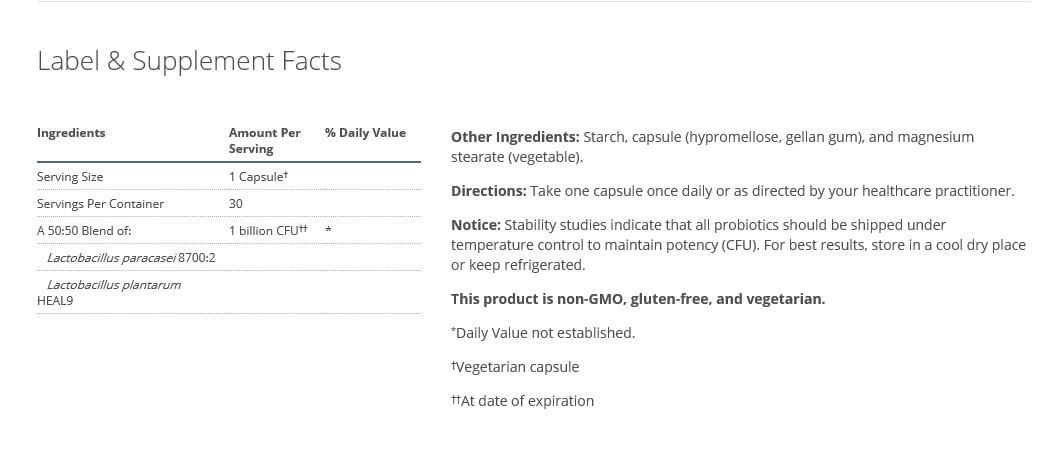 UltraFlora Immune Booster supplement facts.jpg