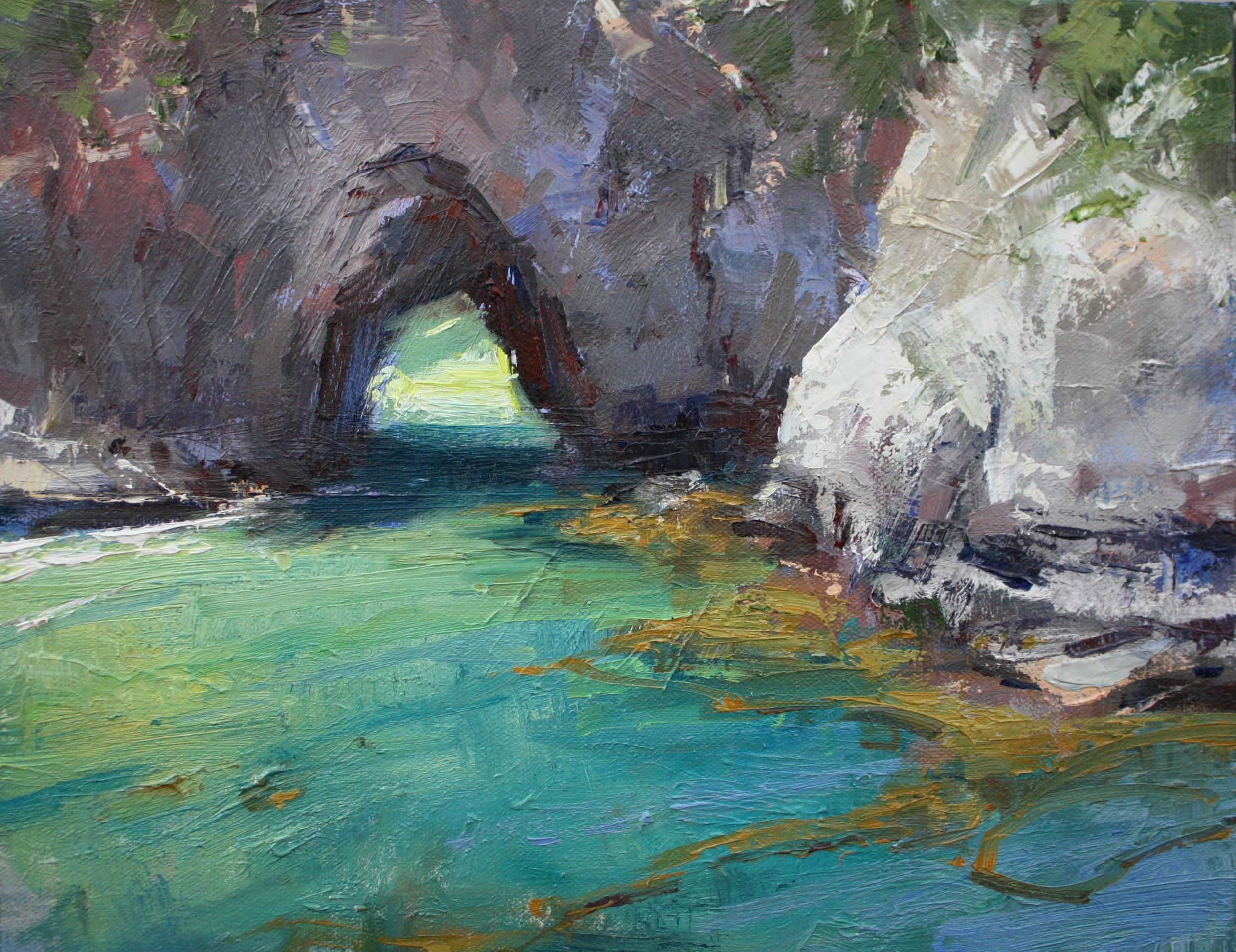 """""""China Cove"""" 11x14, $1200."""