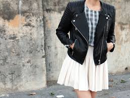 H&M £140 Real Leather jacket
