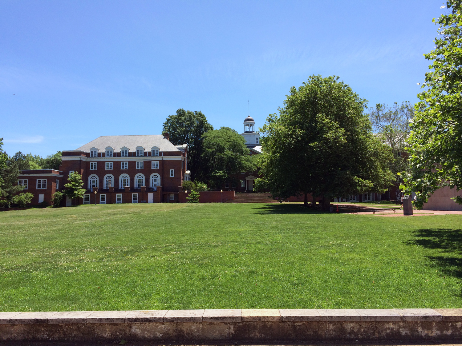 Grounds of The Mitchell Gallery at St. John's University, Annapolis, MD
