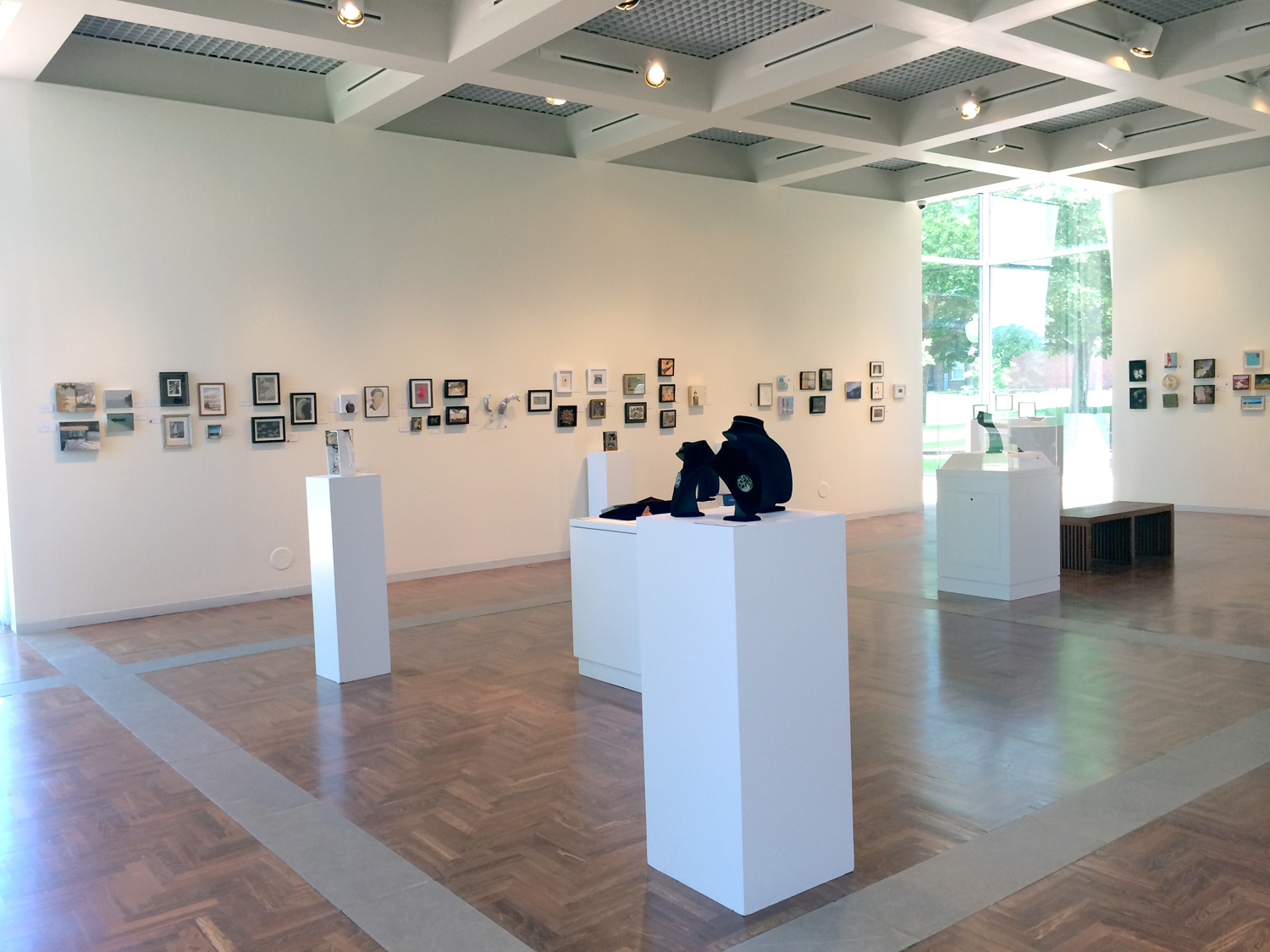 The Mitchell Gallery: less is more, small works in a great space