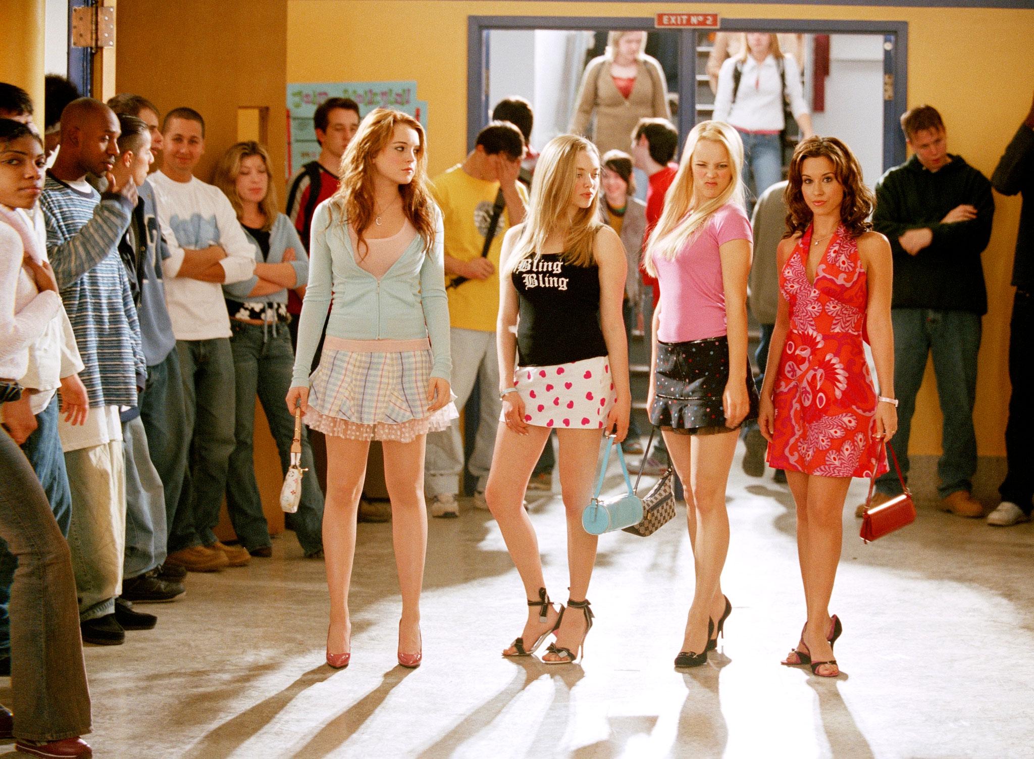 """On Wednesdays we wear pink."""