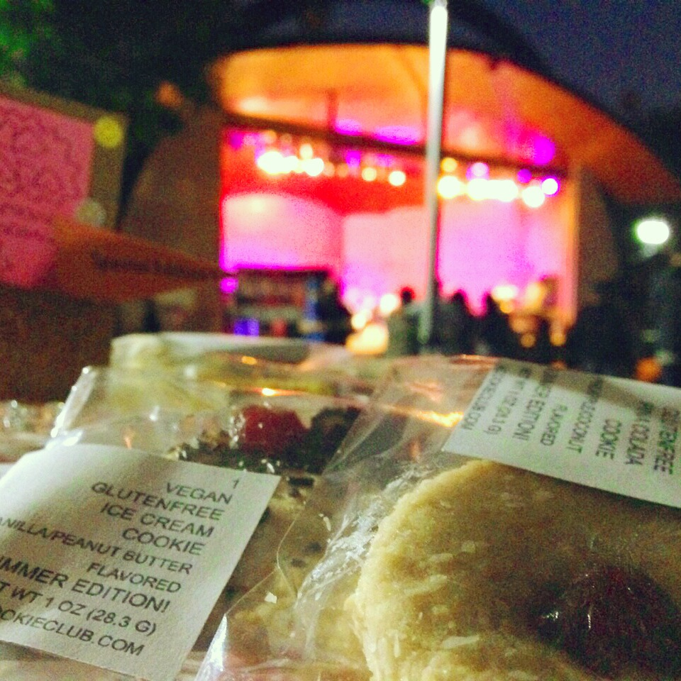 our view during summer nights show series at Levitt Pavilion MacArthur Park august 2014