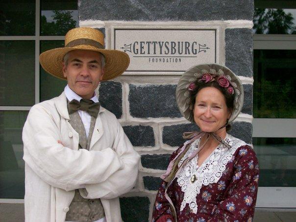 Pat and Dave at Gettysburg Visitors Center.jpg