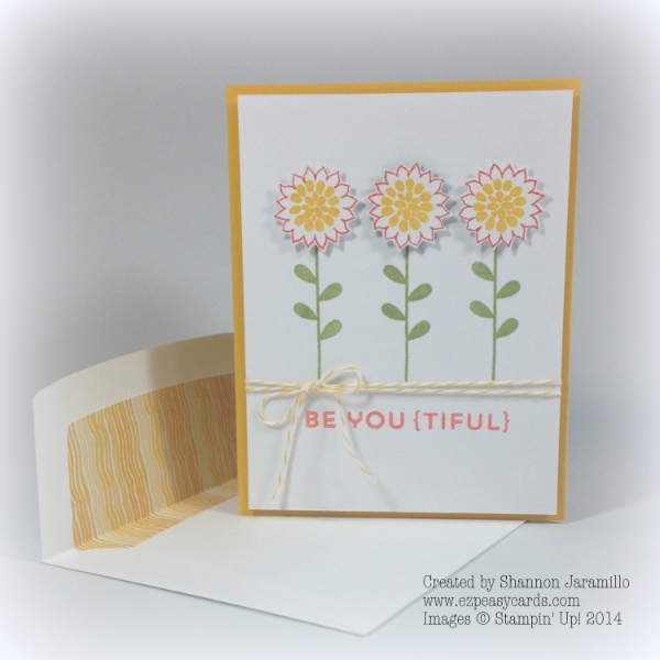 Simple Saturday - Be You{tiful} Blossoms