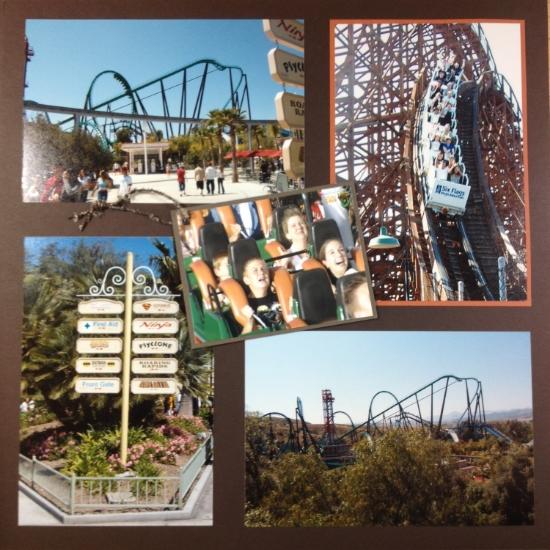 One Fine Day at Magic Mountain, Valencia, California