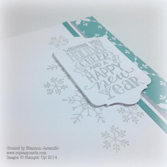 Simple Christmas Wish - CAS(E) This Sketch #96