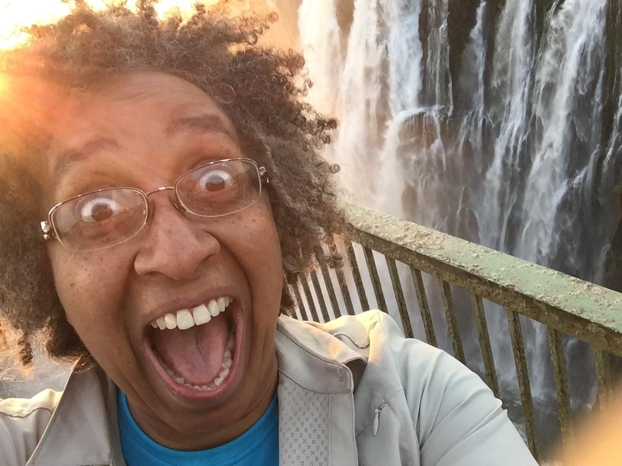 Walking the footbridge alongside Victoria Falls in Livingstone, Zambia, felt almost as scary as leaving Corporate.