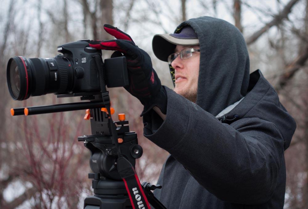 Cinematographer Shawn Knievel