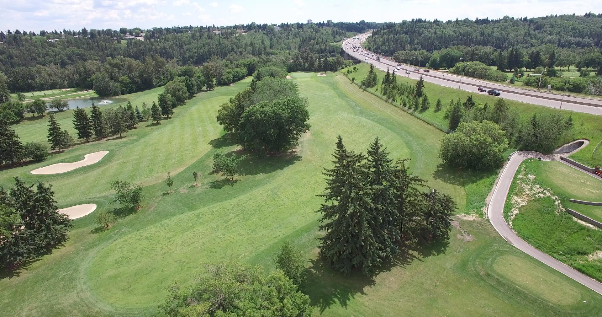Golf Course Drone Video Edmonton