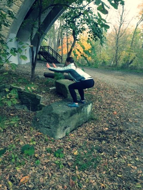 Heather rock jump.jpg