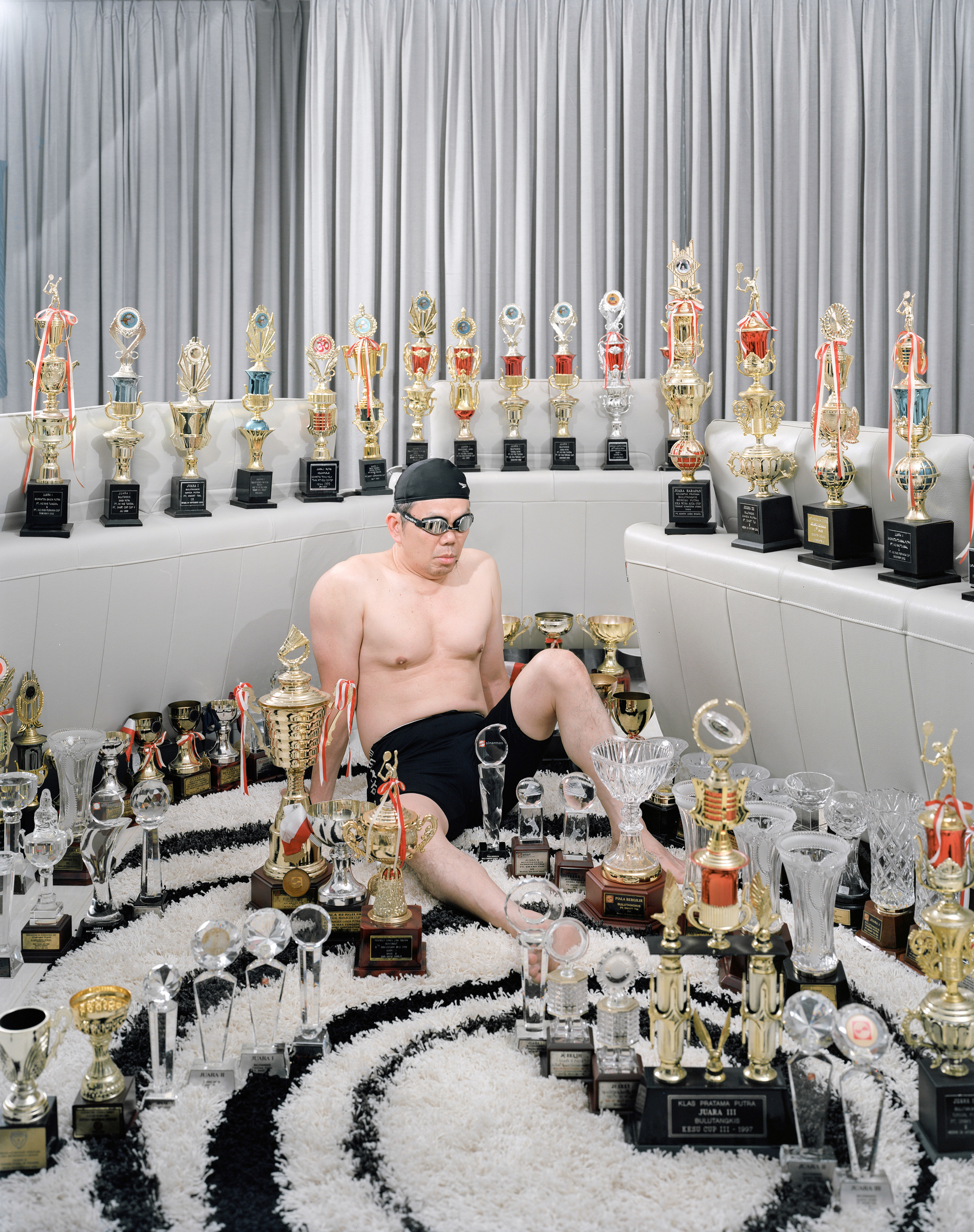 Dad and All of His Trophies, 2015