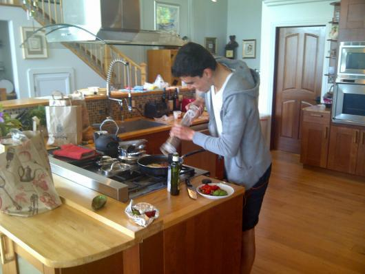 Iron Chef Marvin Guzman