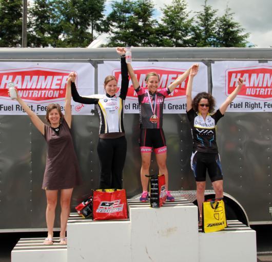 Alysia on the podium!