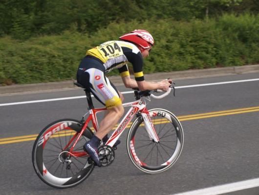 Kurt Withers bringing it in the TT