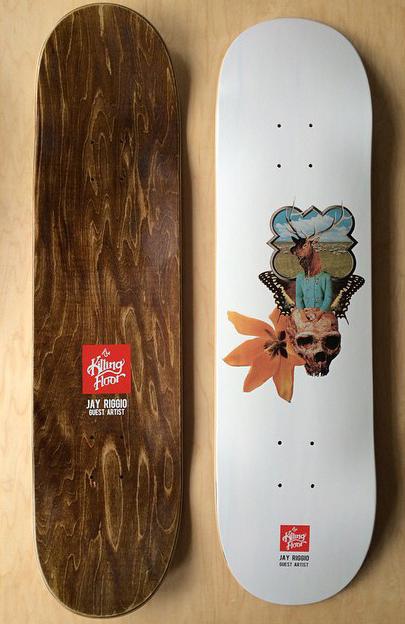 The Killing Floor Skateboards Jay Riggio Art