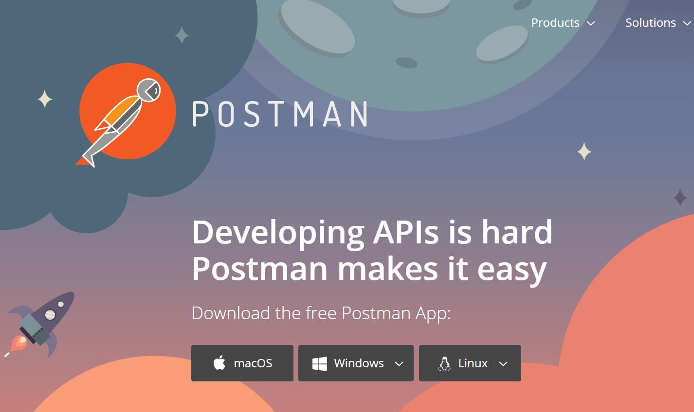 postman homepage.png