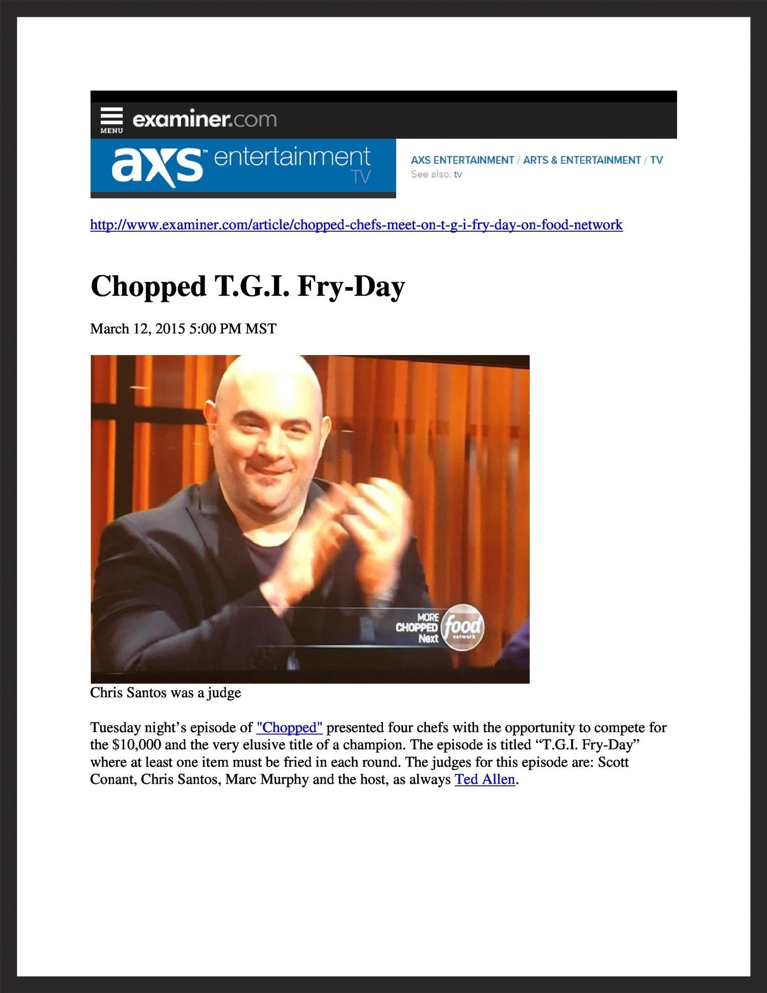 TAPALAYA  Examiner.com  03.12.2015