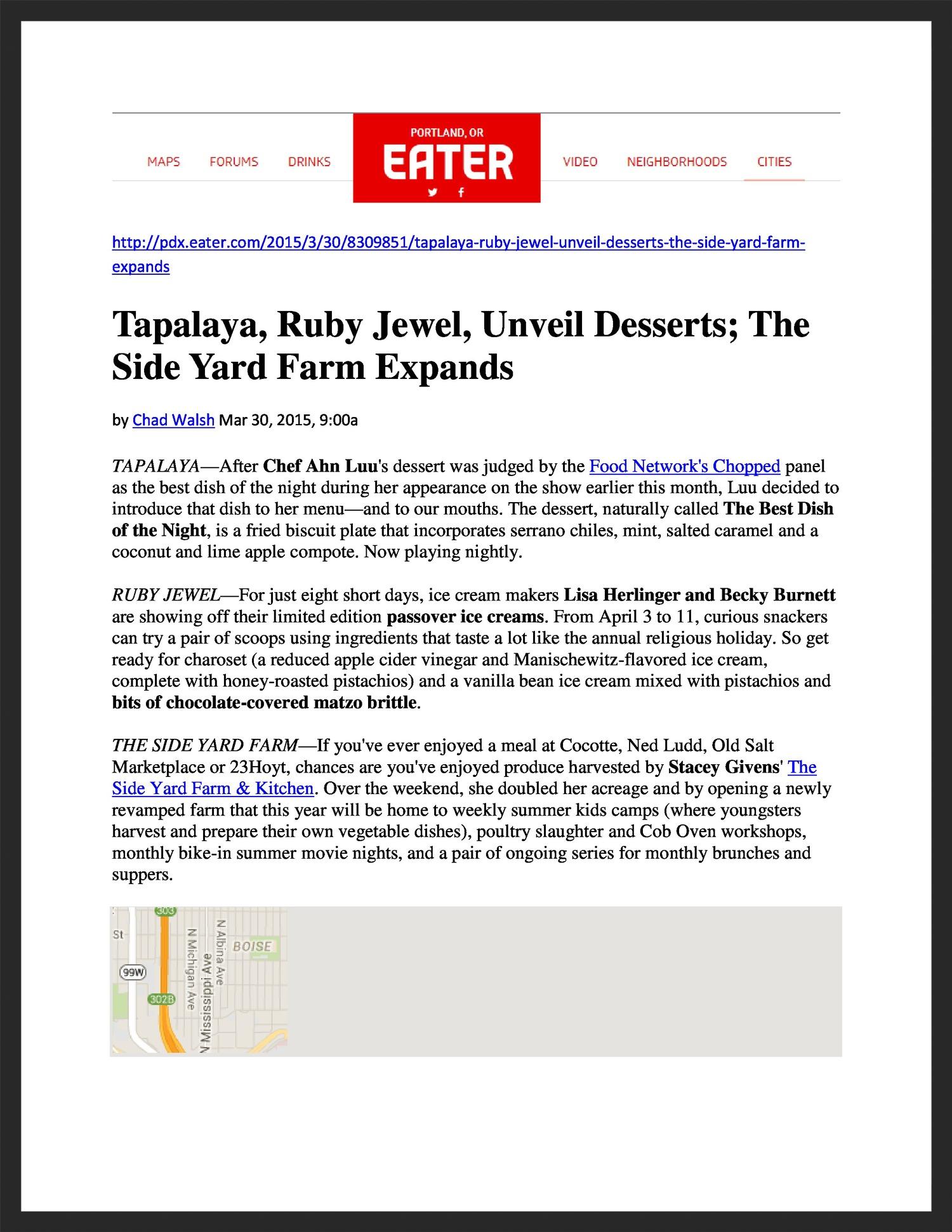 TAPALAYA  Eater  03.30.2015