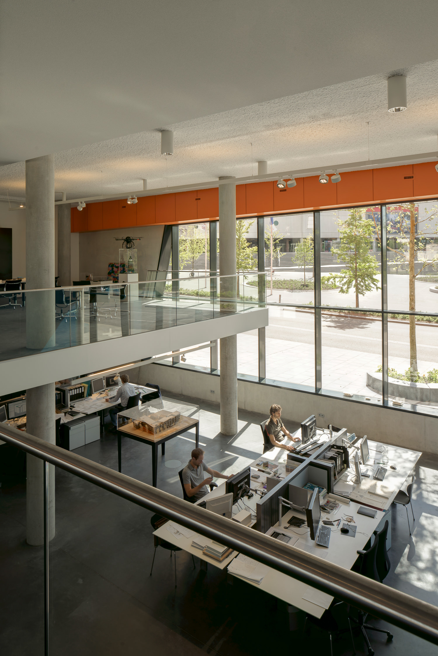interior office by mark haden architectural photographer