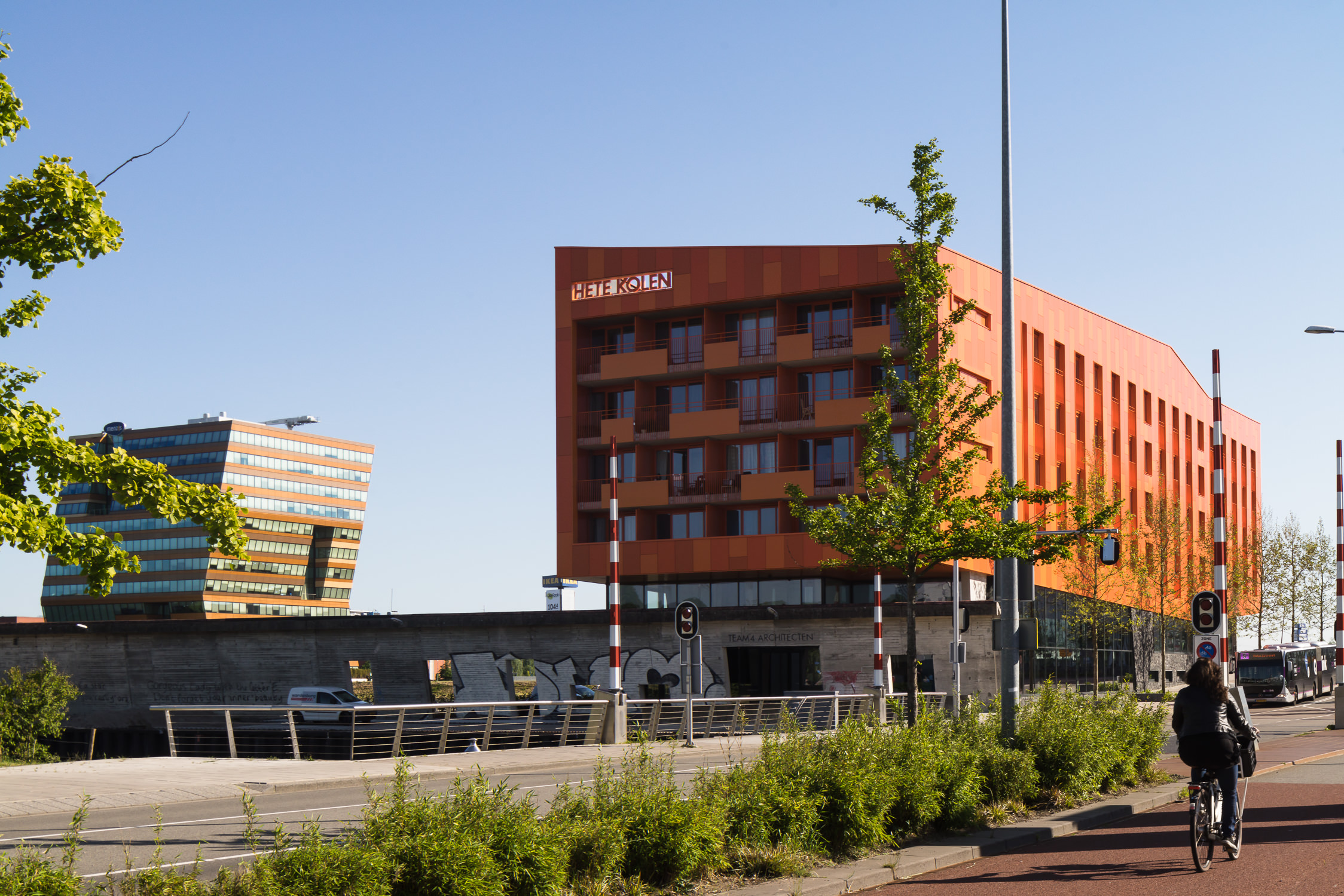 architectural photography in groningen, netherlands by mark hadden of amsterdam
