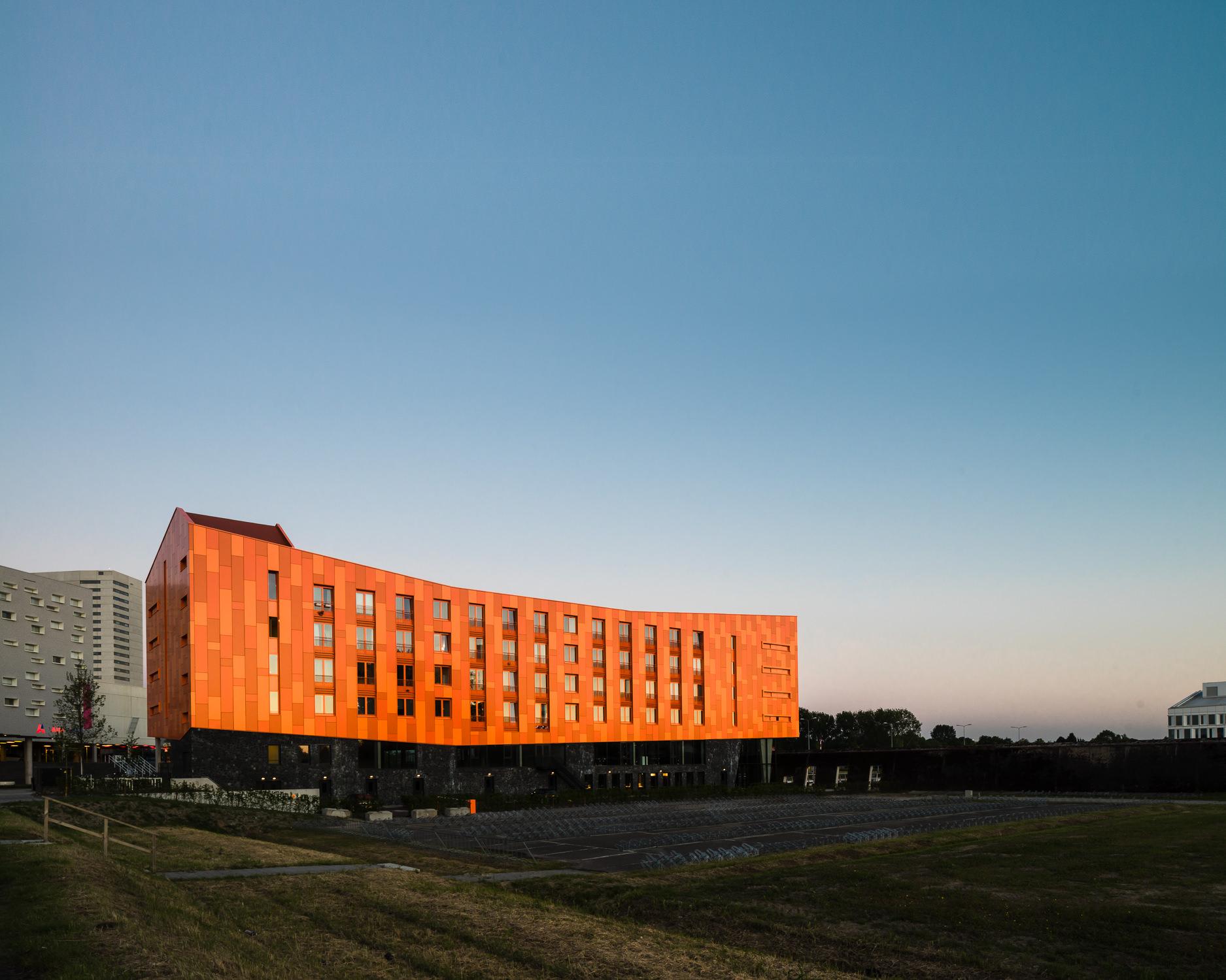 hete kolen sunset by mark hadden architecture photographer