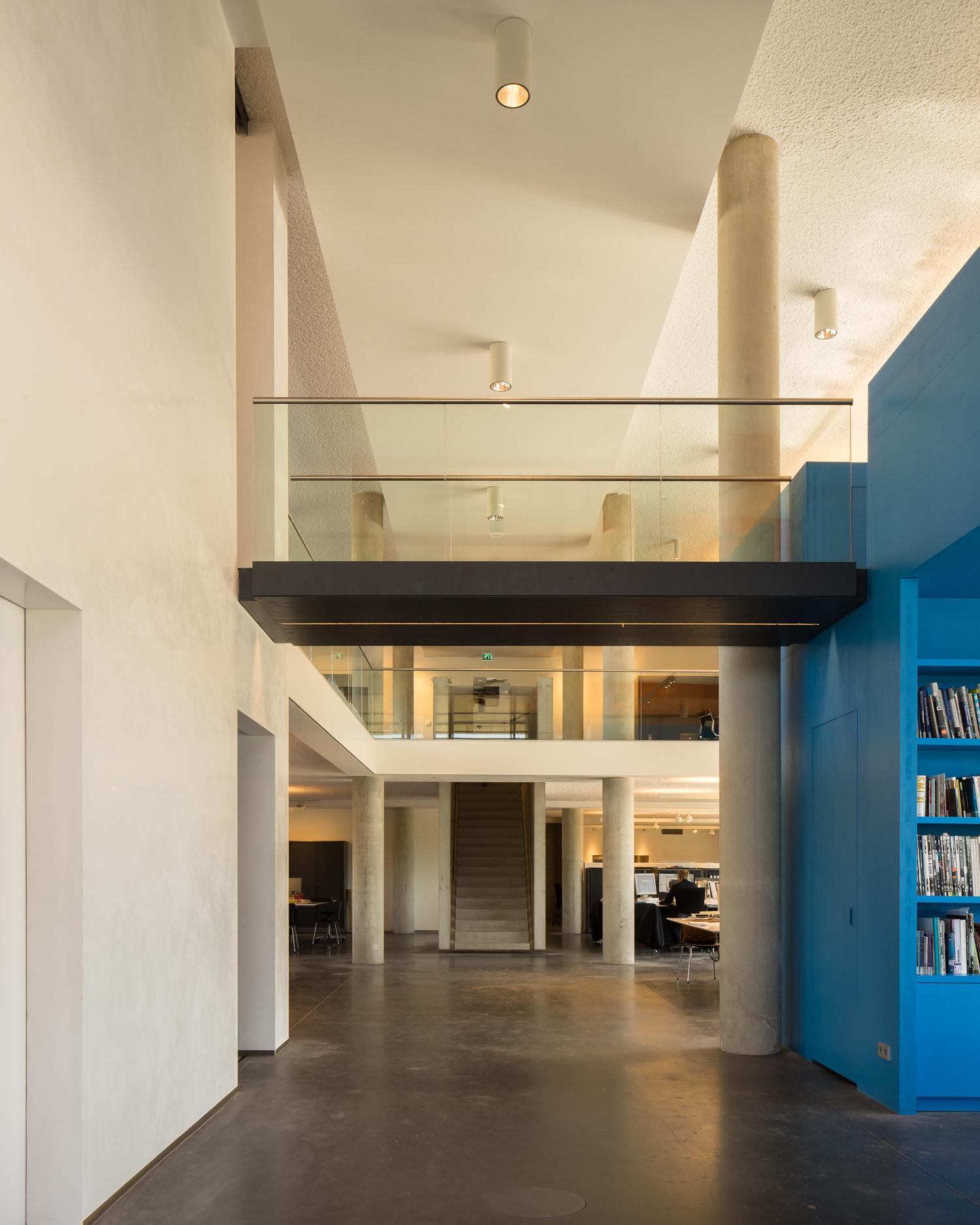 foyer of hete kolen by team 4 architecten