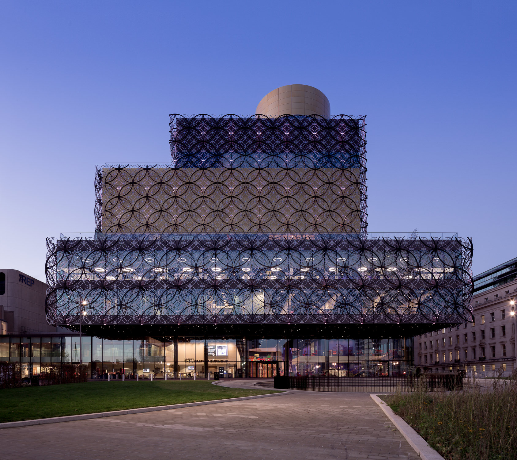 Architecture Photography London Birmingham Library by Mecanoo