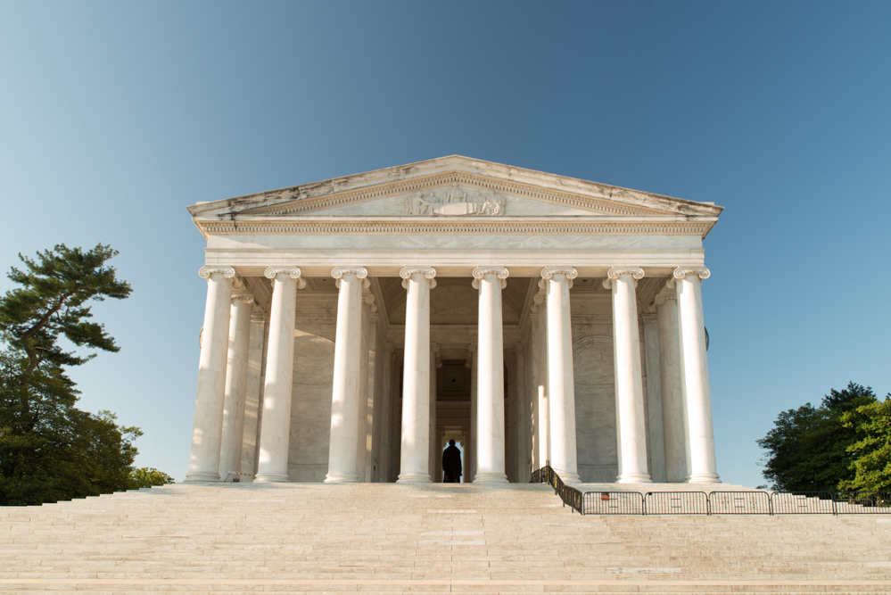 Thomas Jefferson Memorial in Washington D.C.