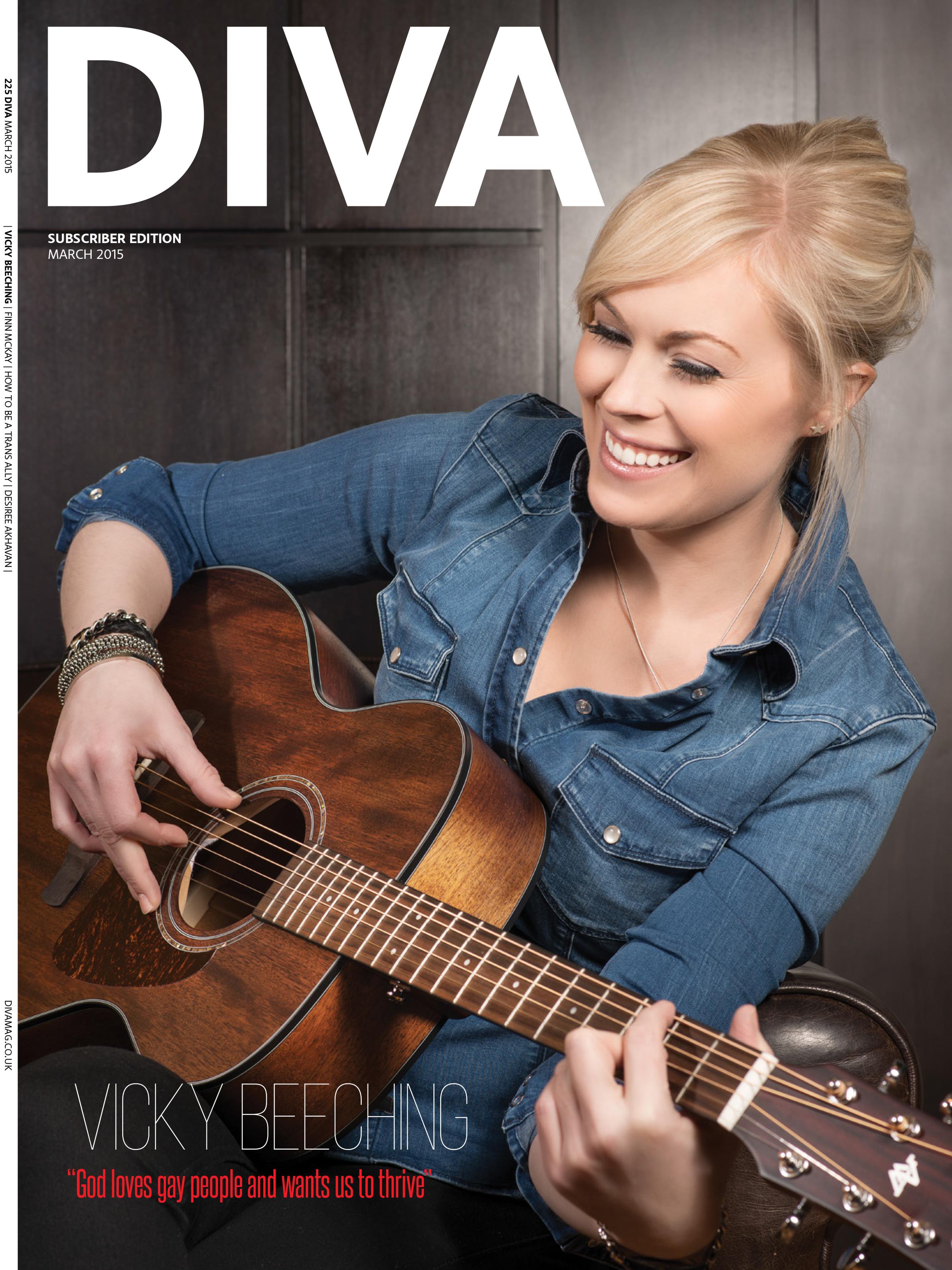 Vicky Beeching Diva Magazine by Sven Bannuscher