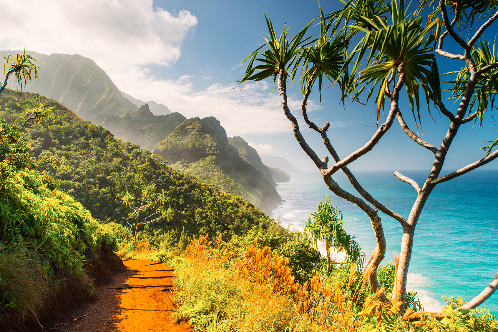 Kalalau Trail, Kauai, Hawaii