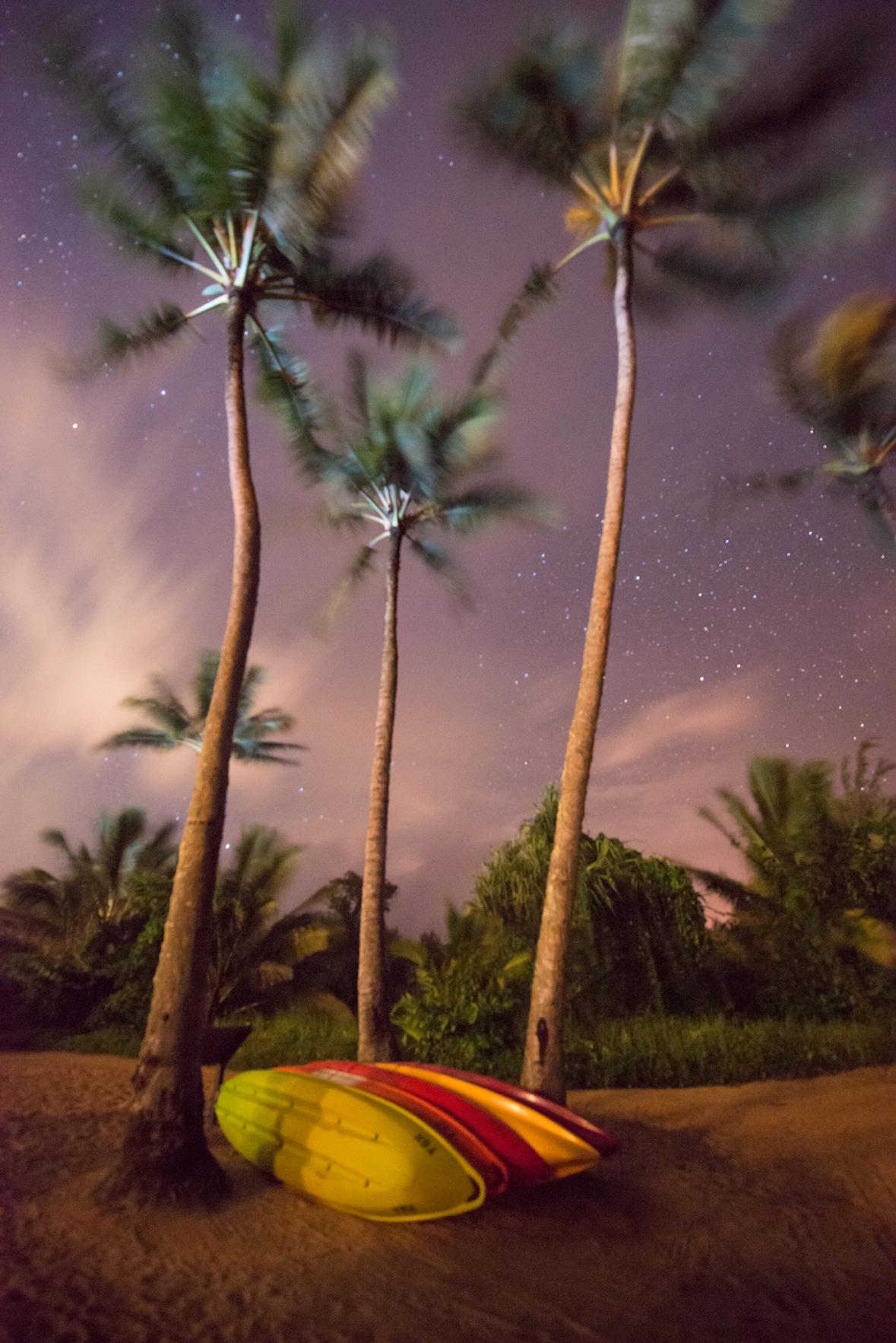 Pu'u Poa Beach, Kauai, Hawaii