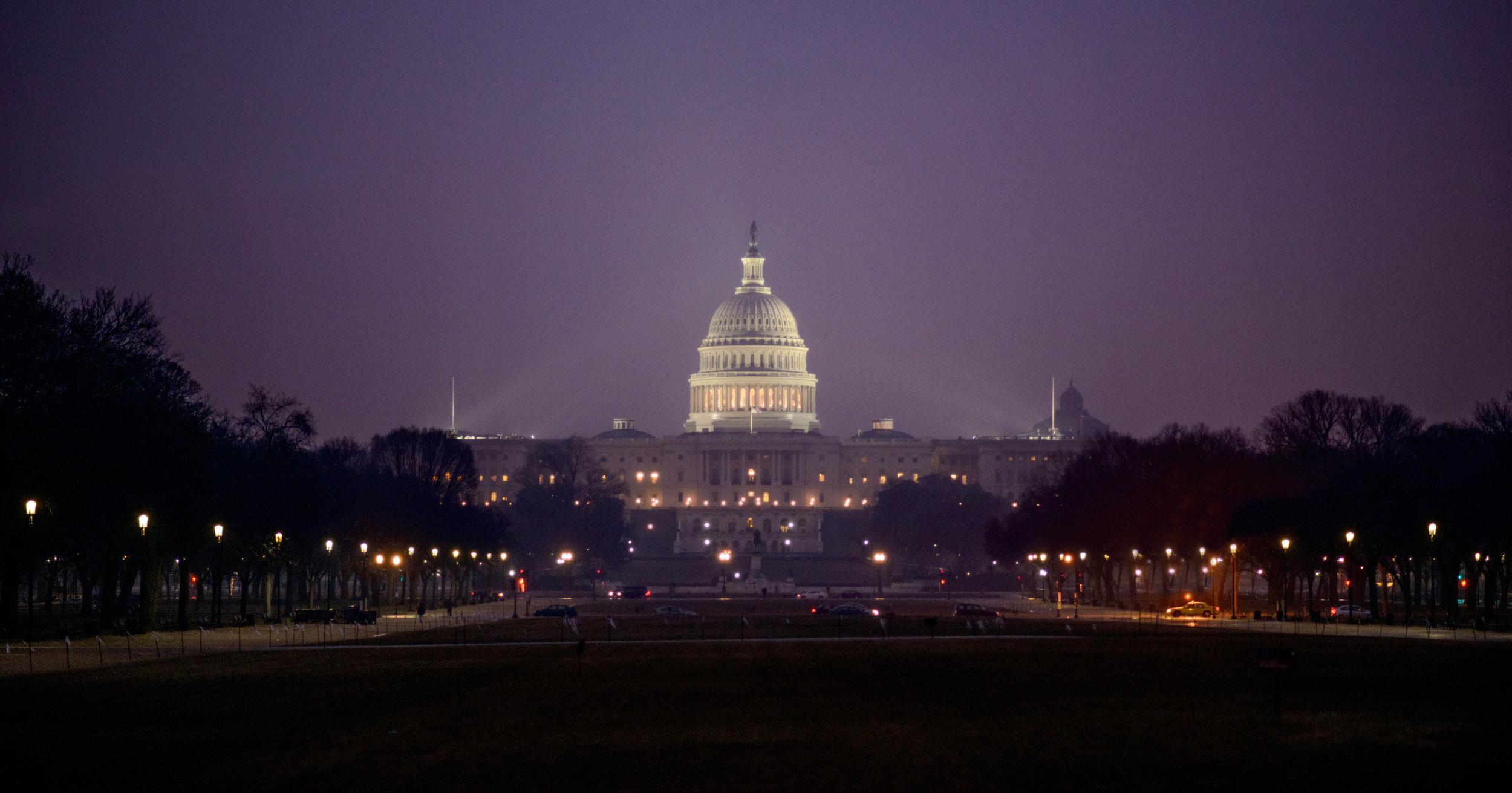 Washington DC: Capitol Building