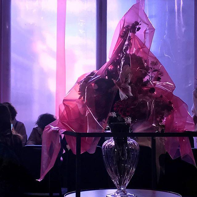 @halpernstudio 🌷🌷🌷#lfw - magic set by @shona.heath