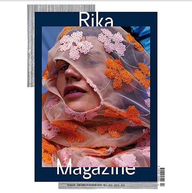 Peekaboo 👆🏻RIKA Issue 17 is here 🍓Cover 1/4: #saskiadebrauw shot by #josholins and styled by #lucindachambers #dreamteam 💫 Available exclusively at IDEA, DSM London from next Friday and all good bookstores worldwide from 4th April🙏🏻