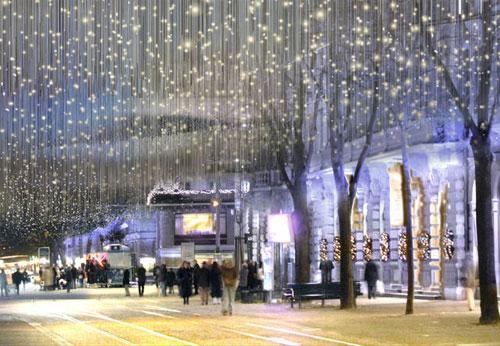 Weihnachten an der Bahnhofstrasse