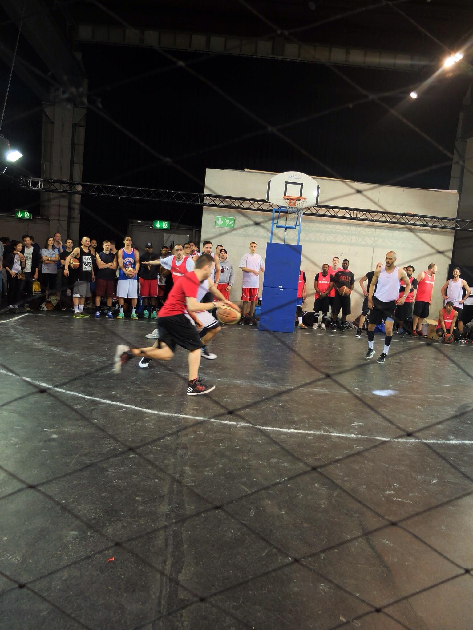 Basketball battles