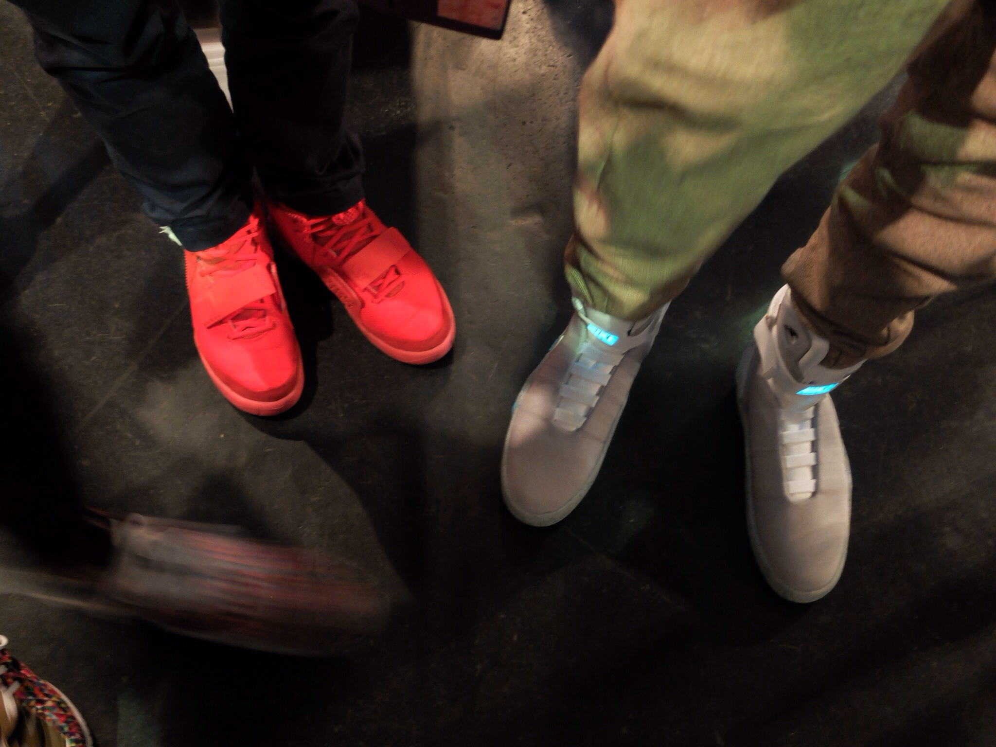 Air Yeezy II Red und Air Mag Back To The Future