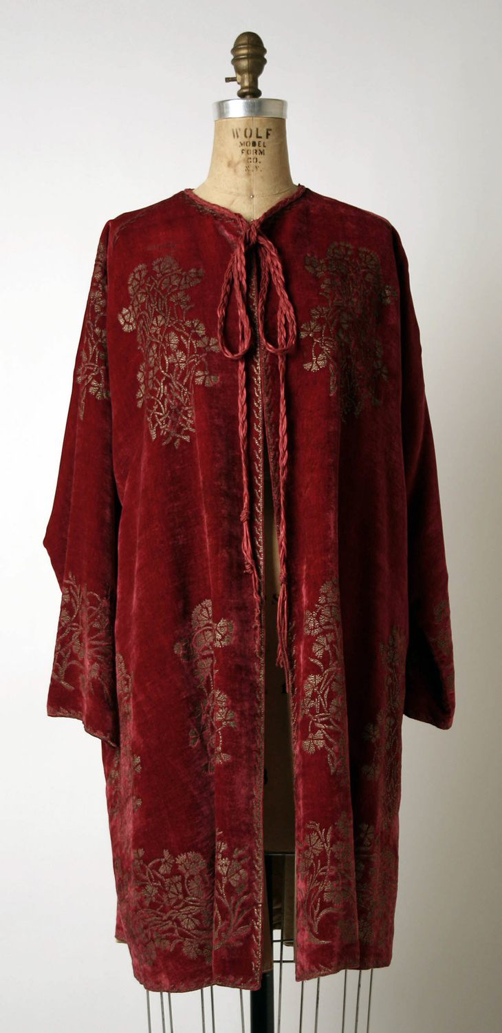 Evening Jacket, 1950s, Venice. House of Fortuny. Metropolitan Museum of Art, 1980.186b.