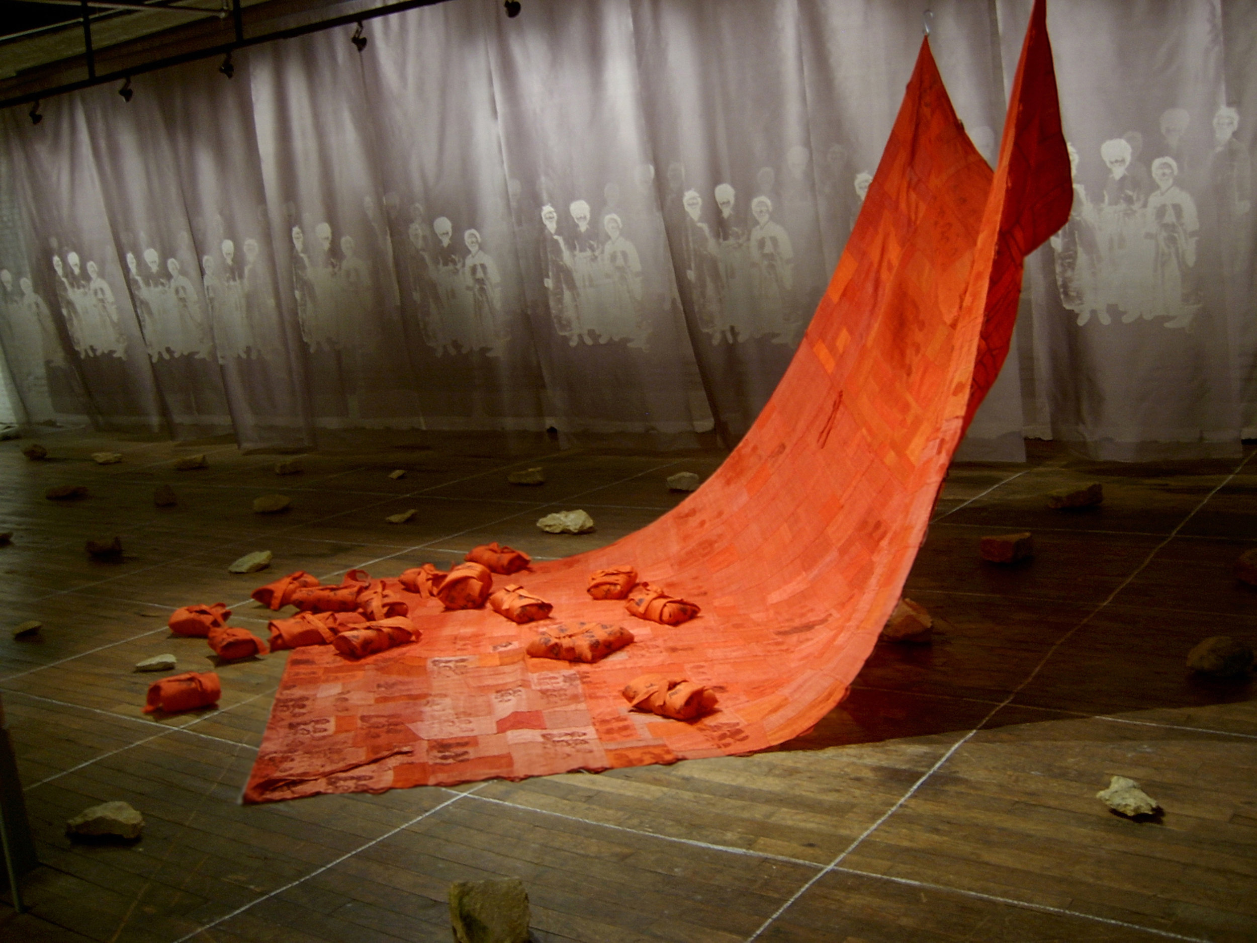 Chunghie Lee,  Belger Installation