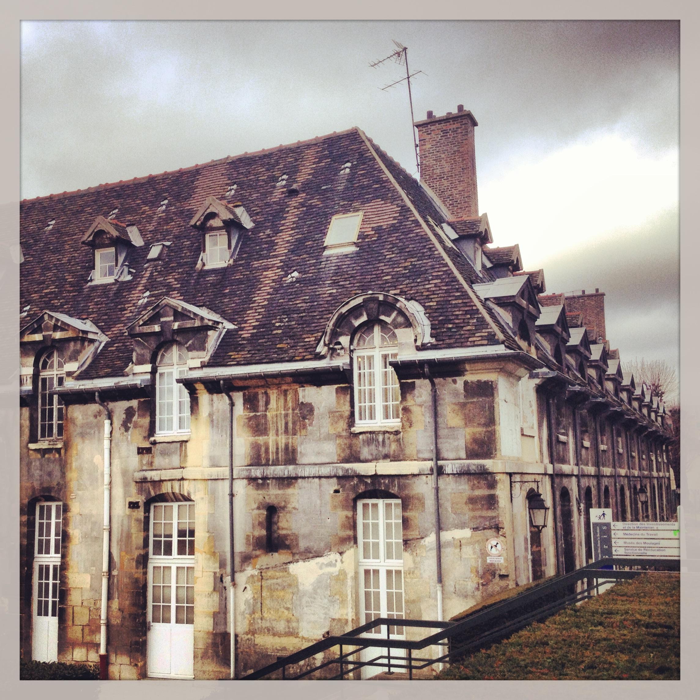 French Castle Hospital Paris