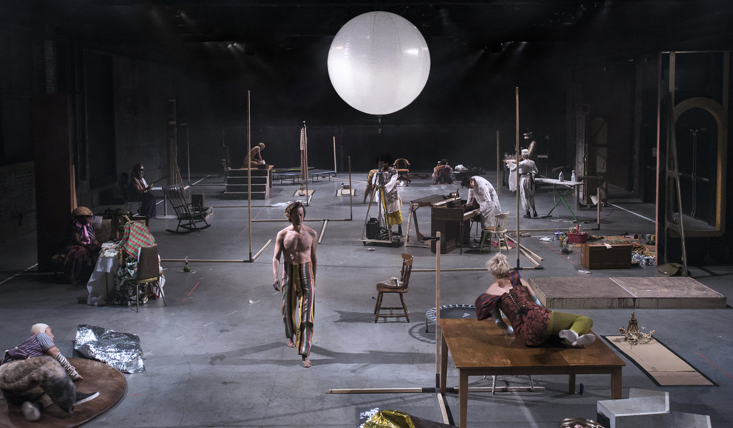 LANDSCAPE WITH FIGURES    Performance  2019