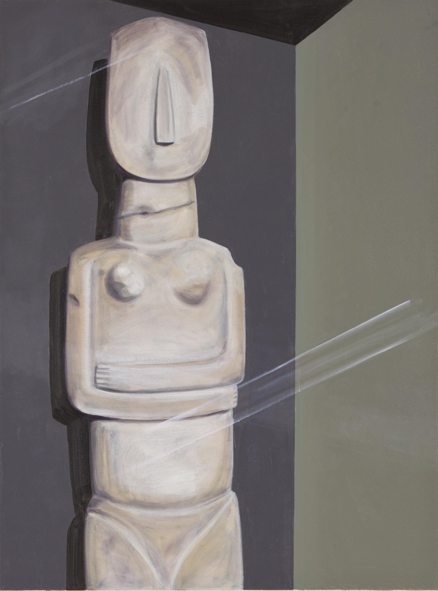 Cycladic Female Figurine