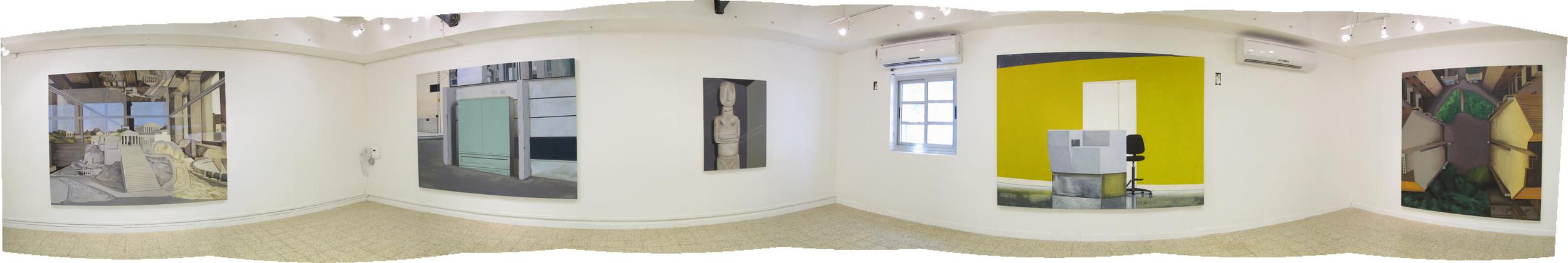 2013 - Graduation Exhibition, Hamidrasha School of Art