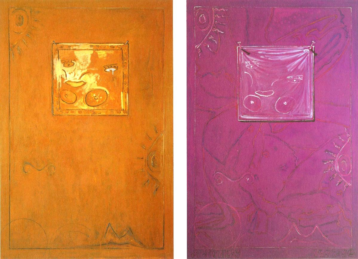Untitled , (1991) Jasper Johns