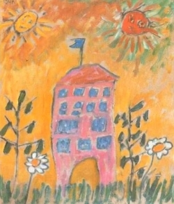 House  (1914), Gabriele Munter