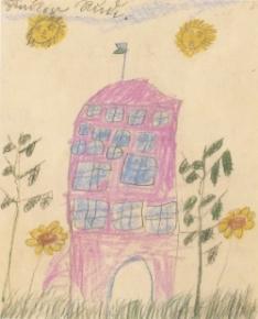 Child's drawing, Rudi Schindler
